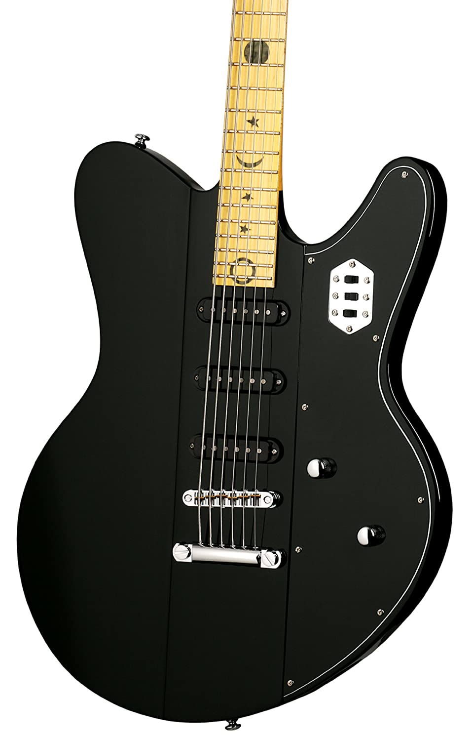 Robert Smith Schecter Ultracure VI 6 cuerdas para guitarra eléctrica, color negro: Amazon.es: Instrumentos musicales