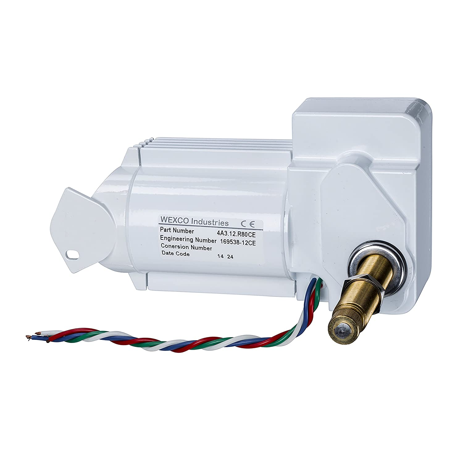 12V shaft Two and a half inch 2.5 Wexco Wiper Motor CE Certified 4A2.12.R110DCE