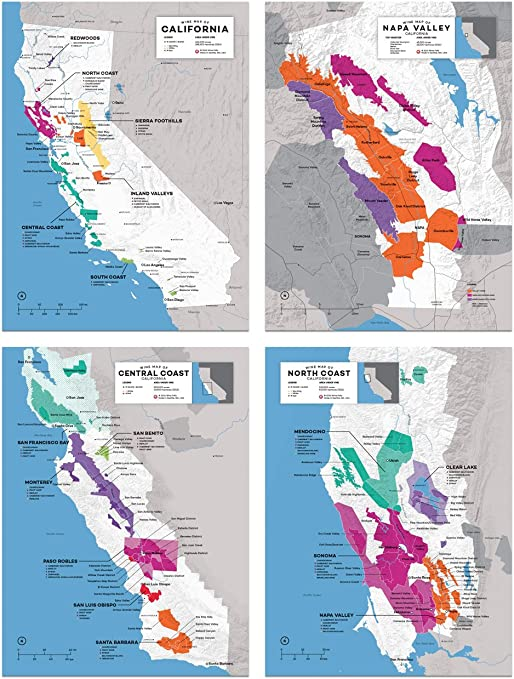 It is a graphic of California Regions Map Printable for blank