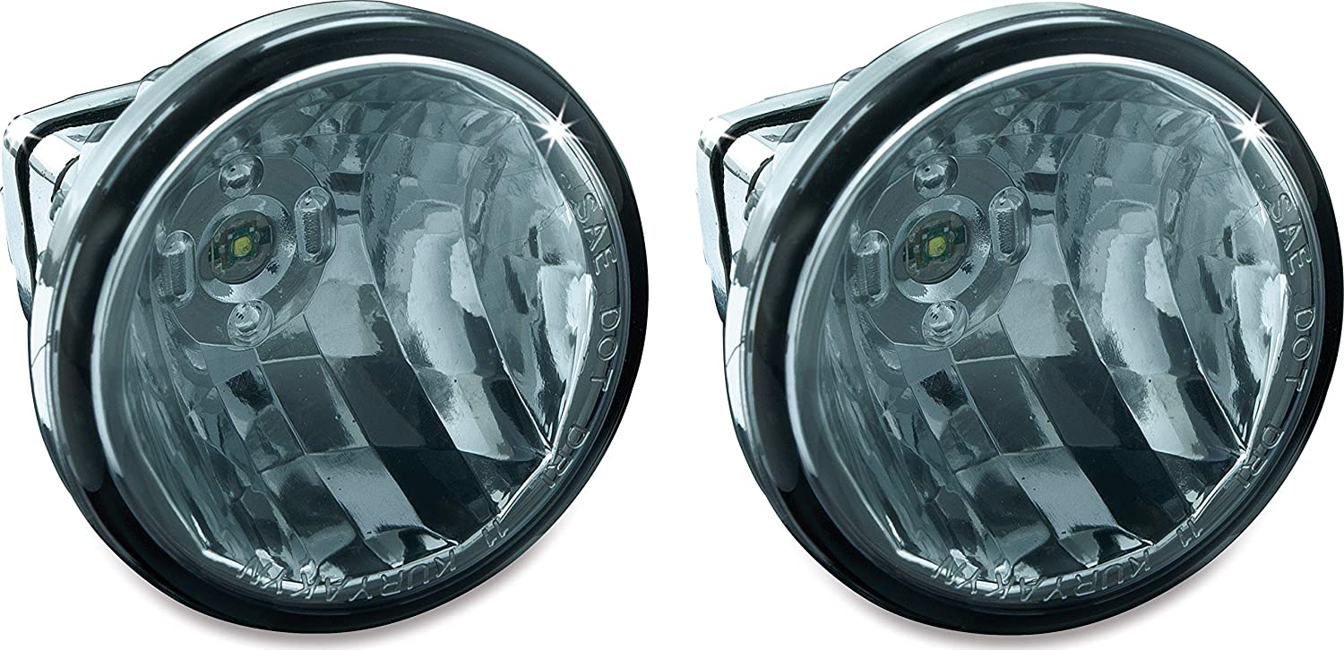3 LED Upgrade Lamps for Driving Lights Kuryakyn 5035 Motorcycle Lighting Accessory 1 Pair White
