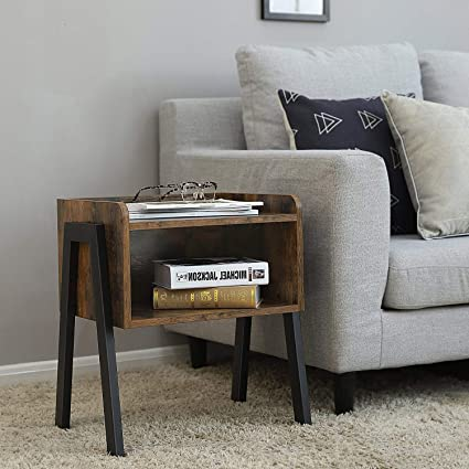 Outstanding Amazon Com Small Side Table Living Room Open Storage Beatyapartments Chair Design Images Beatyapartmentscom
