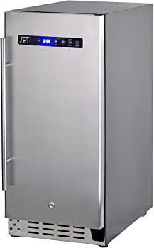 SPT Stainless Steel Under-counter Refrigerator