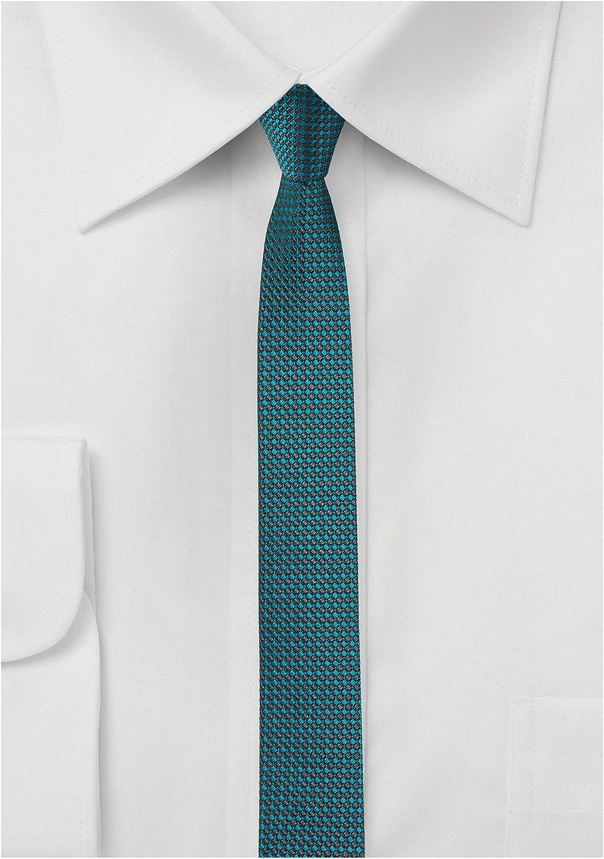 Blackbird - Corbata - para hombre verde petróleo/azul turquesa ...