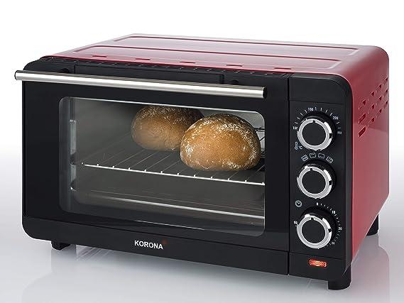 Korona 57005 - Horno pequeño para tostadas, 14 litros, con bandeja ...