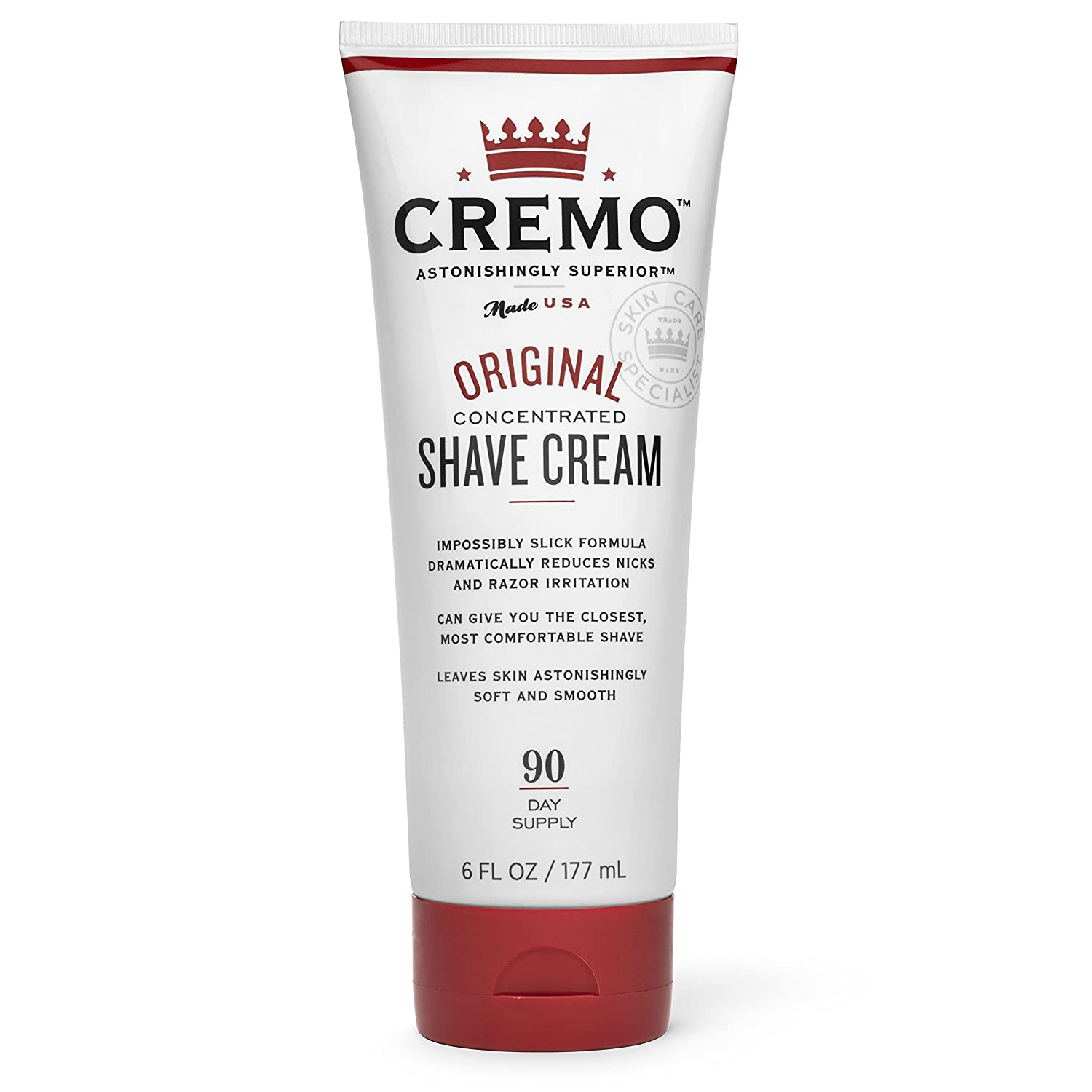 Cremo Original Shave Cream, Astonishingly Superior Shaving Cream for Men,...