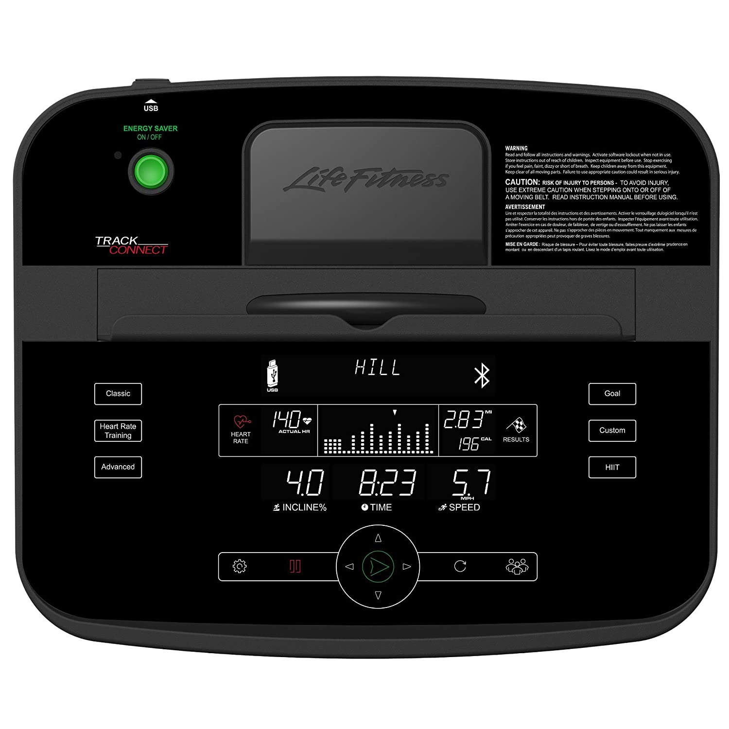 Life Fitness Cinta de Correr t3mit Track Connect Consola Incluye ...
