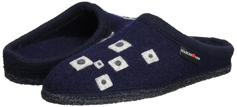 Haflinger Unisex-Erwachsene Walktoffel Geo Pantoffeln Blau (Ocean) (Ocean) (Ocean) 912bfc