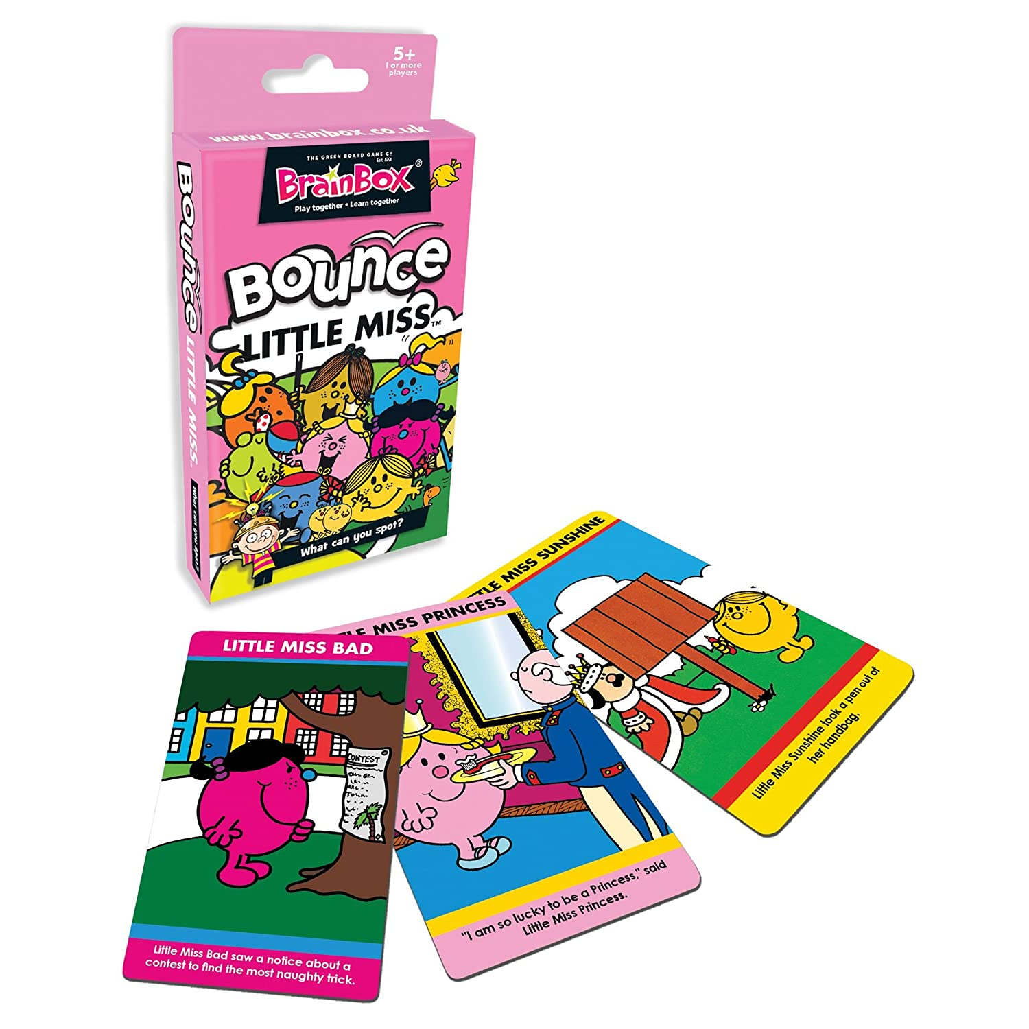 The Green Juego de Mesa CO BrainBox Hinchable Little Miss: Amazon ...