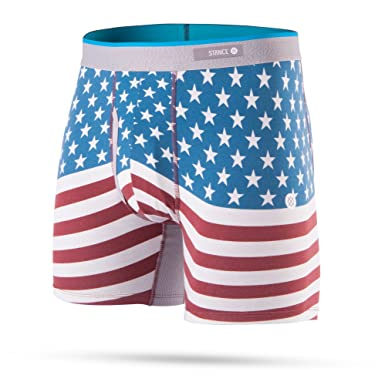 446f3b52bb5f24 Stance Men's Bicentennial Boxer Brief Underwear: Stance: Amazon.co.uk:  Clothing