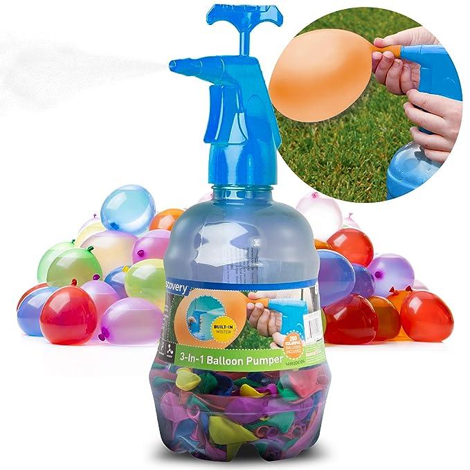 Amazon.com: Discovery Kids 3 en 1 globo Pumper, llenar ...