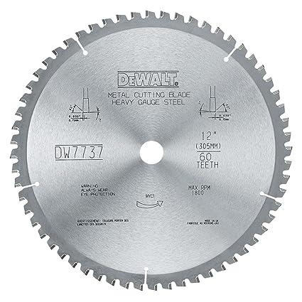 Dewalt dwa7737 60 teeth heavy gauge ferrous metal cutting 1 inch dewalt dwa7737 60 teeth heavy gauge ferrous metal cutting 1 inch arbor 12 keyboard keysfo Choice Image