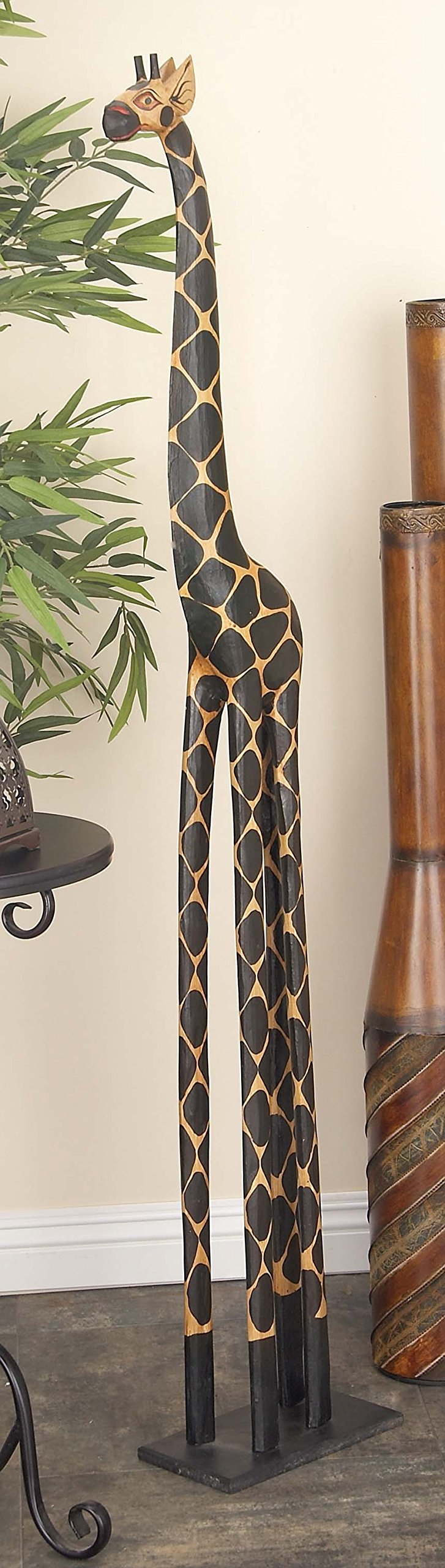 Deco 79 Wood Giraffe, 79 by 12-Inch by Deco 79 (Image #1)