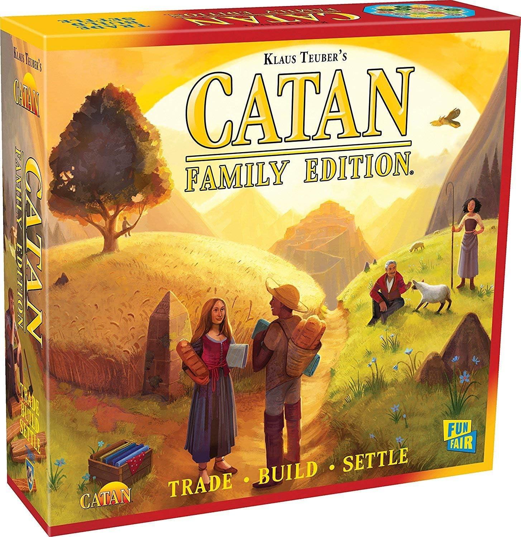 Amazon.com: Catan Family Edition Board Game: Toys & Games