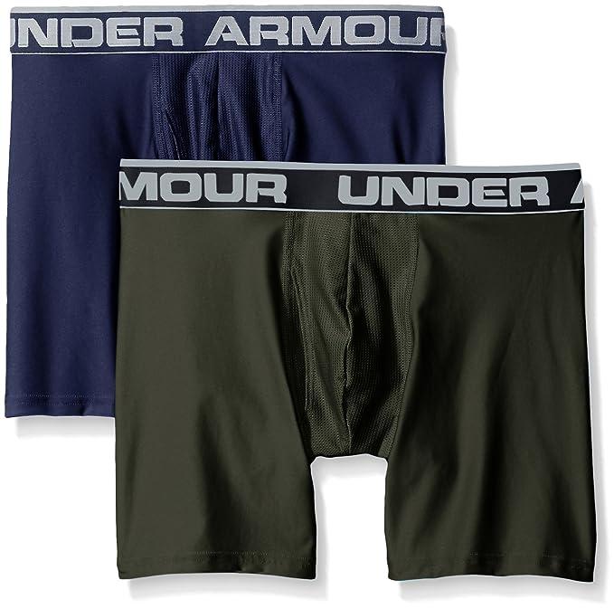 Under Armour O Series 6 Boxerjock 2 PK - Boxers Hombre: Amazon.es: Deportes y aire libre