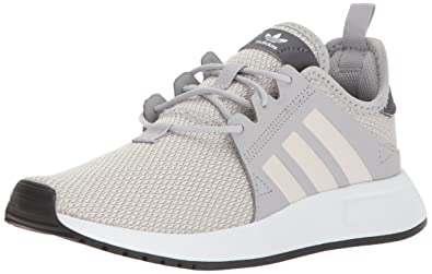 adidas Originals Boys' X_PLR J, Grey Two/Orchid Tint/White, 4.5