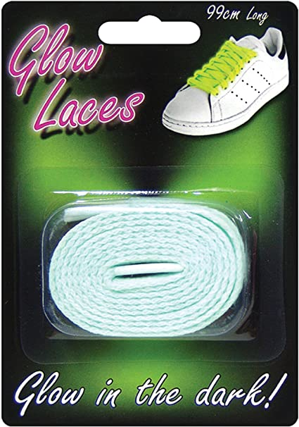 zdz Glow in The Dark Shoe Laces - Green