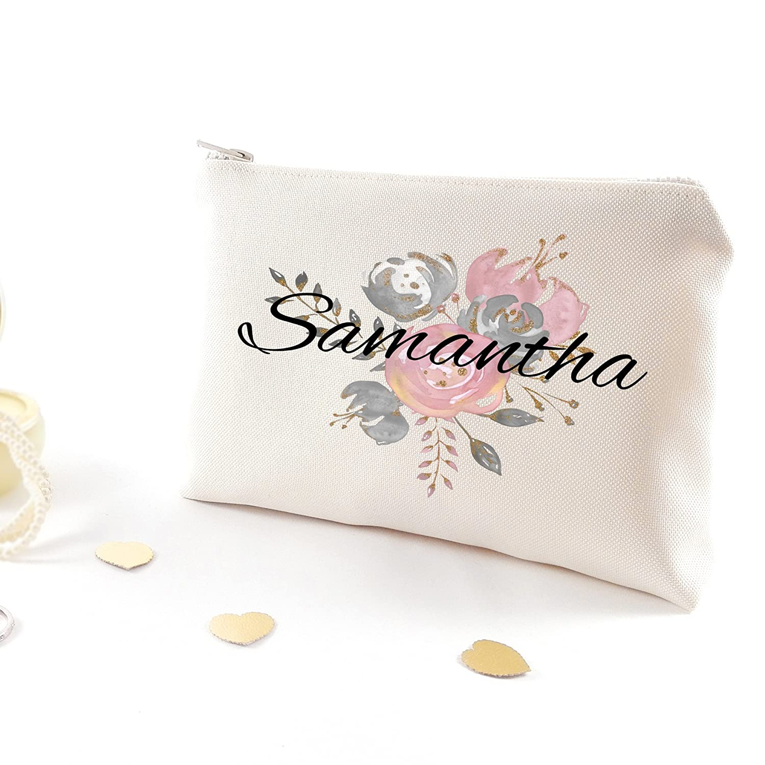 Personalized make up bag - Gift for women