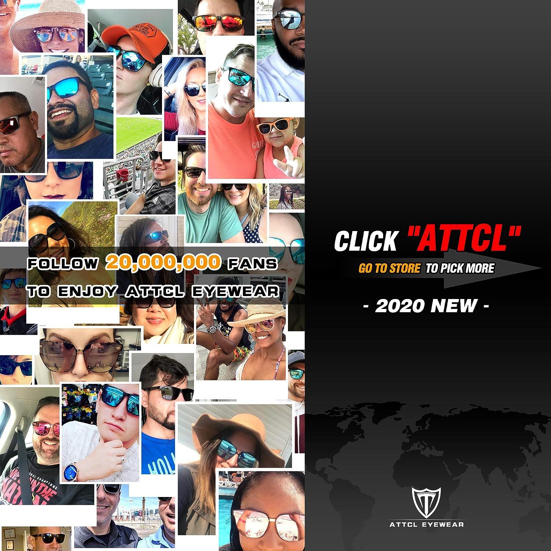 ATTCL Uomo Occhiali da sole polarizzati per guidare gli uomini Al-Mg Metallo Cornice Super Light