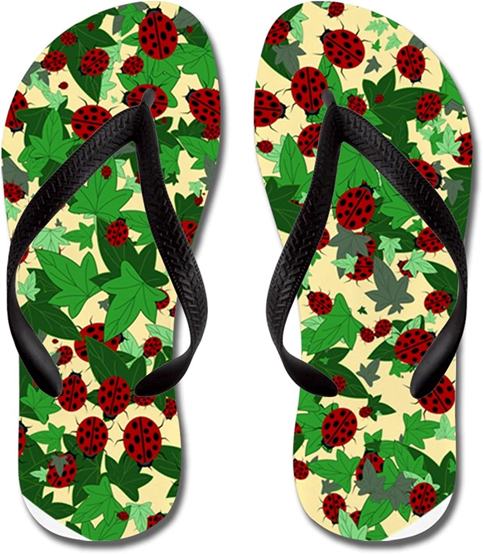 Summer Beach Sanls Green Clovers Comfortable Flip-Flop Multiple Sizes Unisex