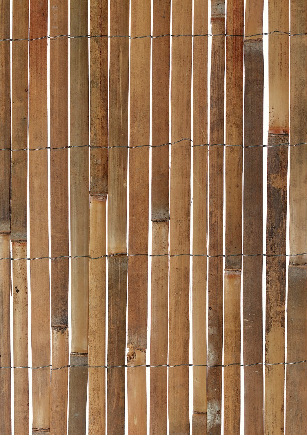 Bamboo Slat Screening 10m Wide x 2m High - Garden Screen Fencing - Bamboo Fence
