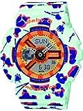 Casio - BA-110FL-3AER - Baby-G - Montre Femme - Quartz Analogique - Digital - Cadran Multicolore - Bracelet Résine Multicolore