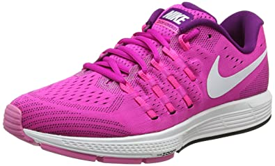b27017a507ee Nike Women s Air Zoom Vomero 11 Training Running Shoes Fire Pink Bright  Grape Black