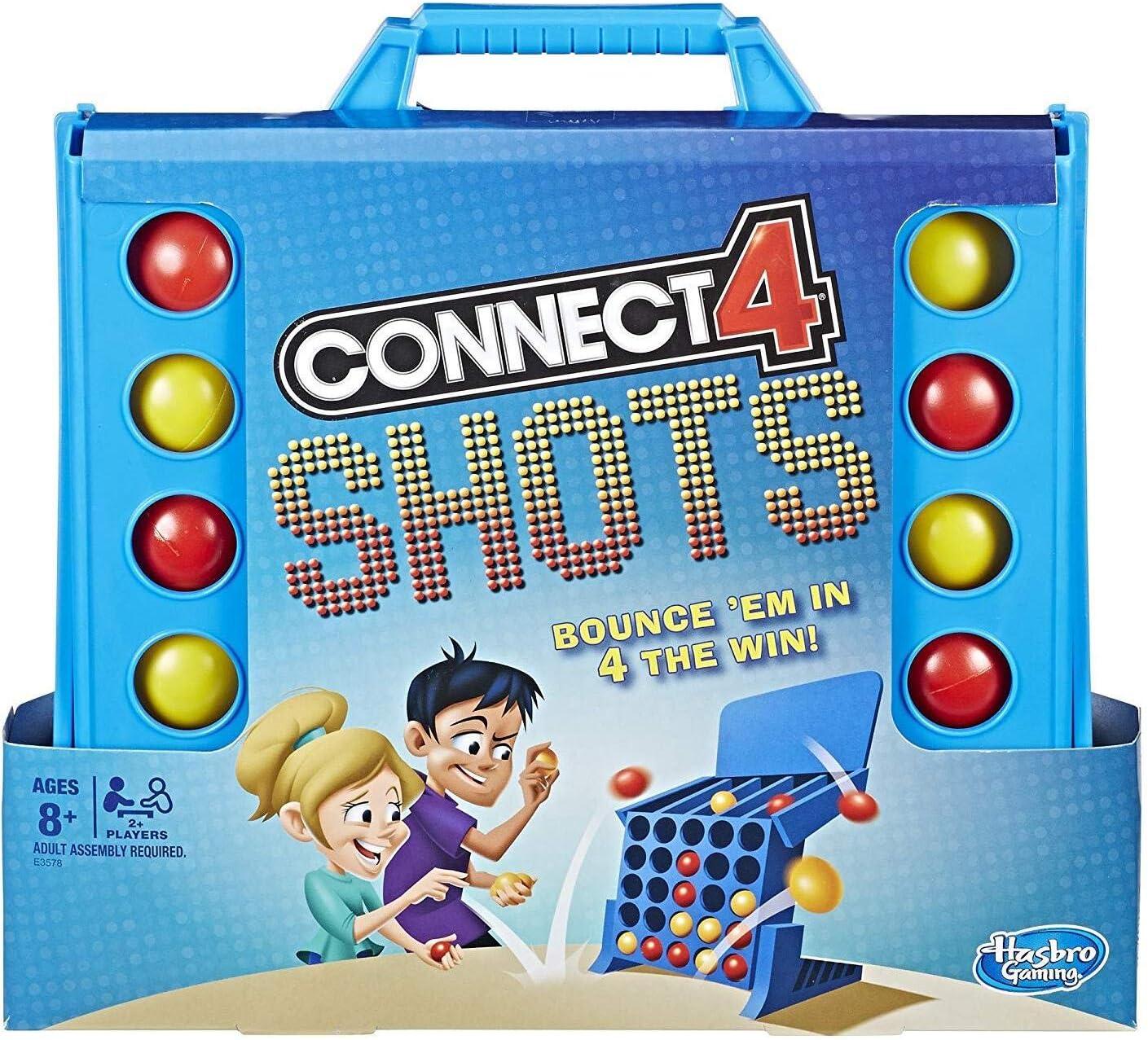 Hasbro Connect 4 Shots Game: Amazon.es: Juguetes y juegos