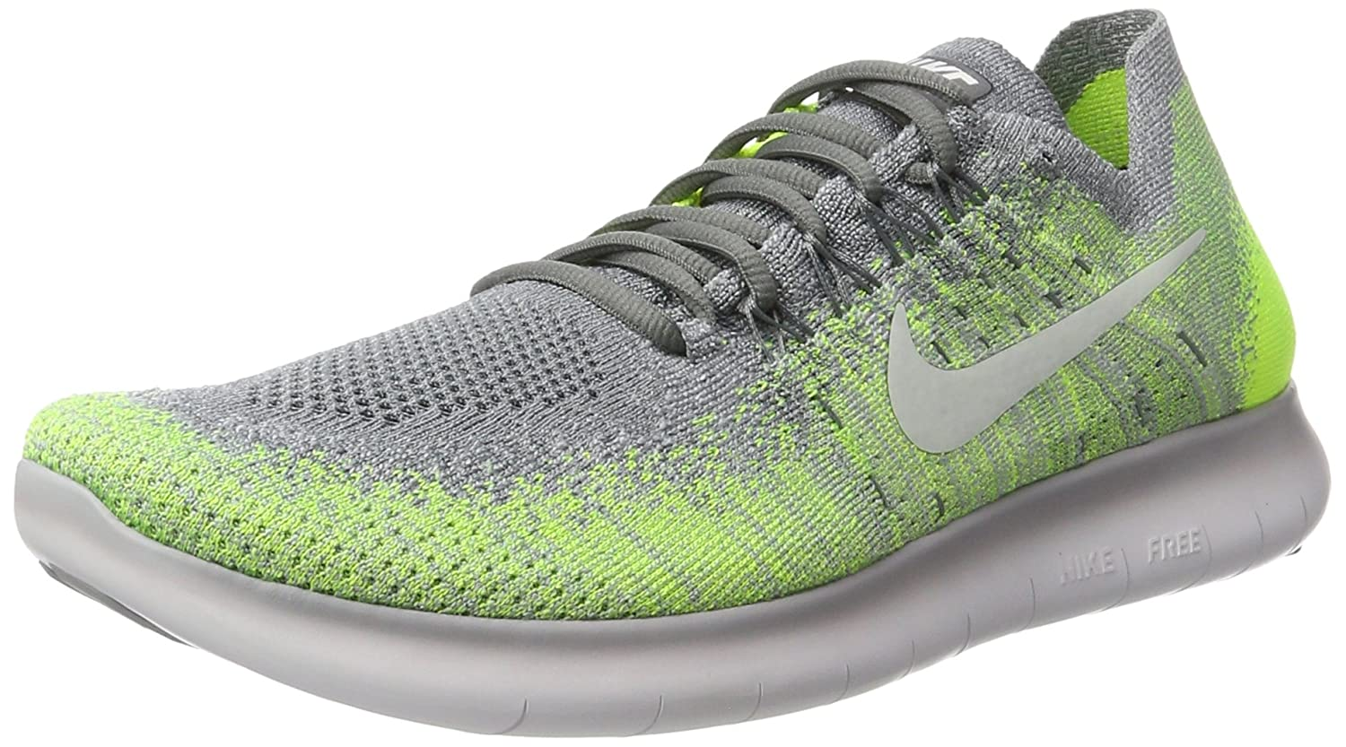 Mens NIKE 'FREE RN FLYKNIT' 880843 004 Running Shoes SIZE 9