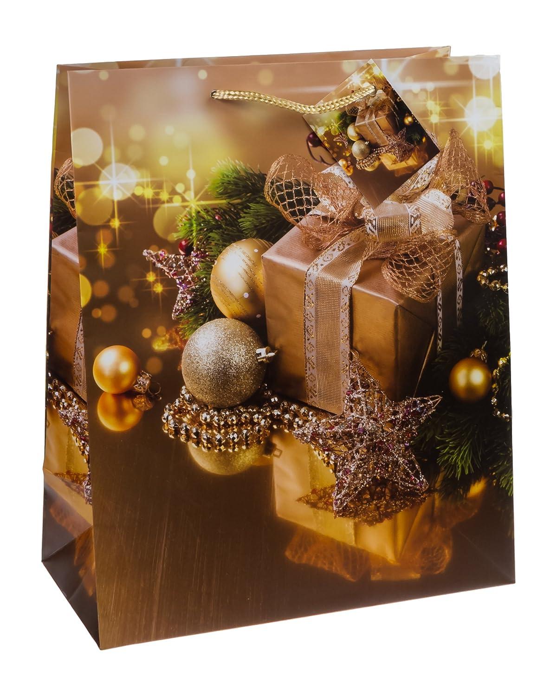 32/x 26/x 13,5/cm misura: grande confezione da TSI 87310/sacchetto regalo Natale Serie 10