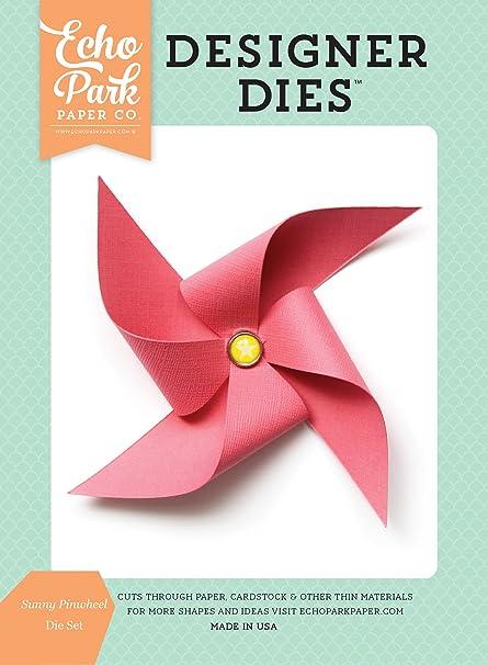 Amazon Echo Park Paper Company Dr126042 Sunny Pinwheel Die Set