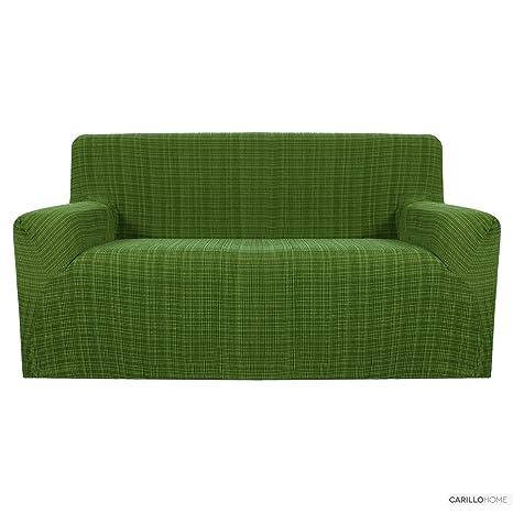 Funda Cubre Sofa Vintage - Par de Sillones, Verde
