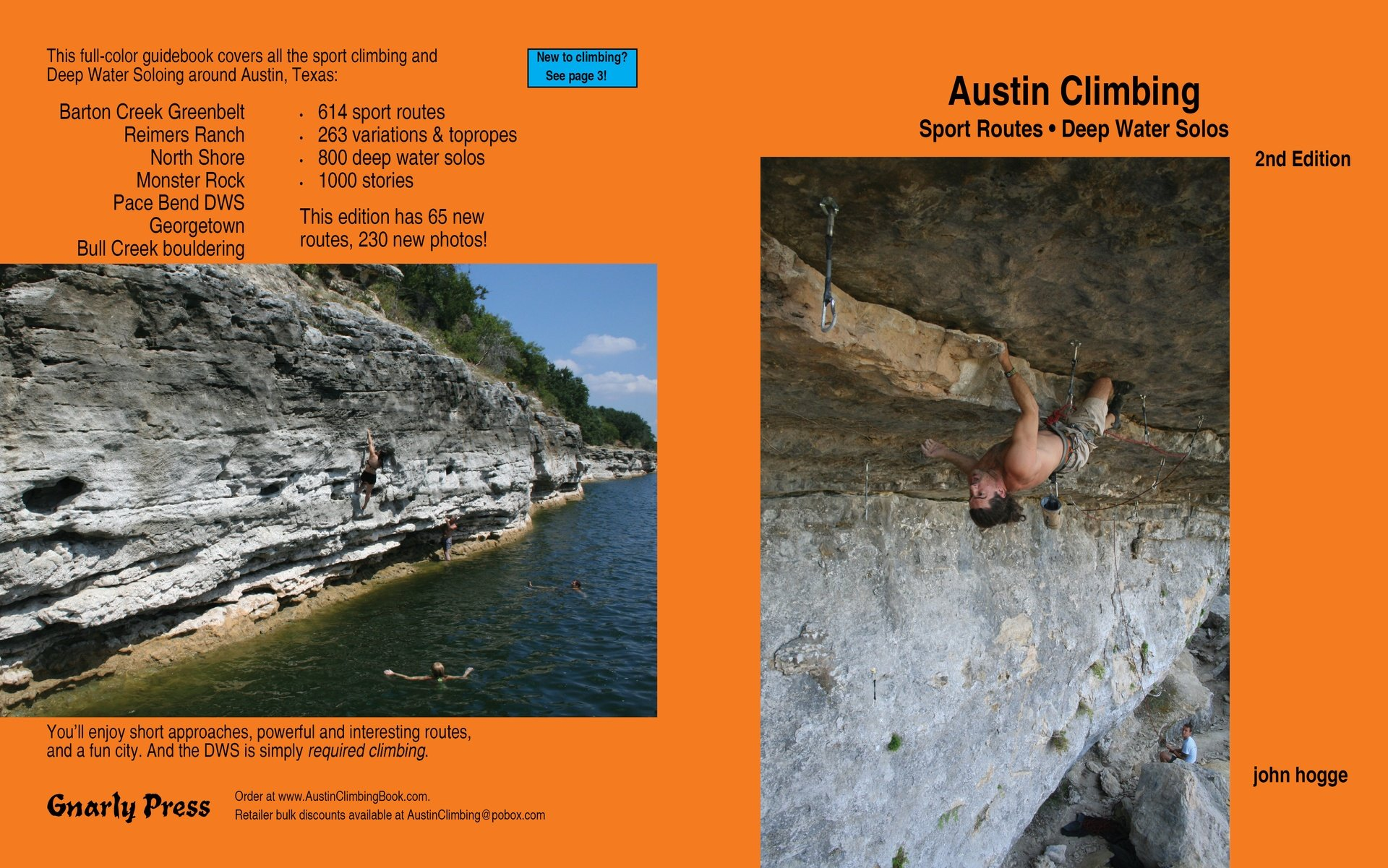 Download Austin Climbing Sport Routes & Deep Water Solos ebook
