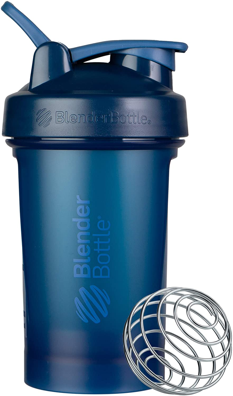 BlenderBottle Classic V2 Shaker Bottle, 20-Ounce, Navy