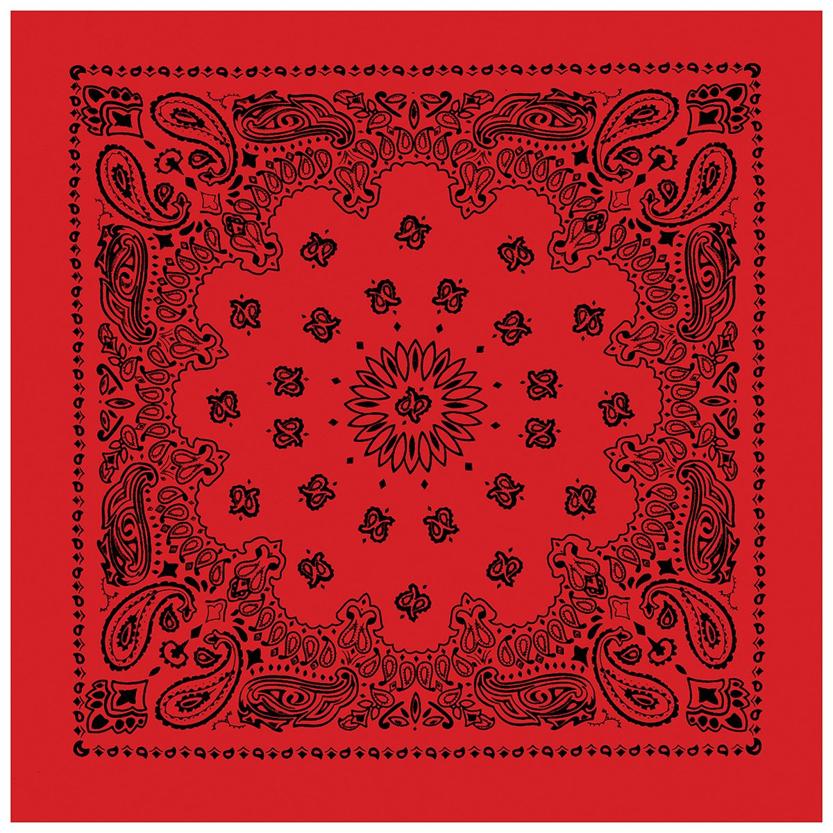 Rothco Large Trainmen Bandanas 27 inch 4349RED / BLK