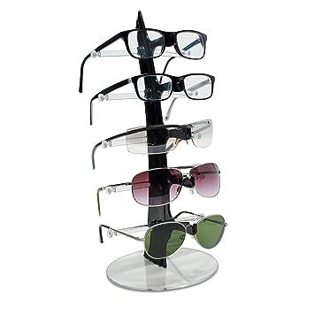 Vococal® Voilier Bricolage Forme 5 Couches Lunettes Lunettes de Soleil Lunettes Stand Rack Support Présentoir Transparent L6GaMRmaBd
