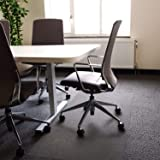 "Floortex Polycarbonate XXL Office Mat 60"" x 79"" for All Pile Carpets (FR1115020023ER)"