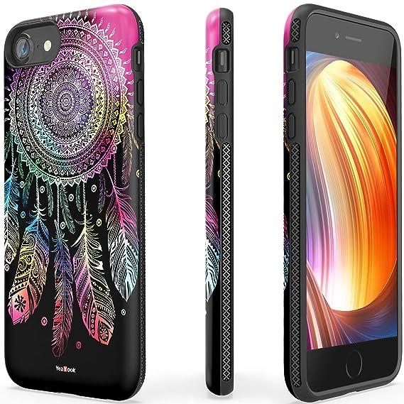 amazon com iphone 6plus 6s plus female shockproof printed with ringiphone 6plus 6s plus female shockproof printed with ring kickstand cute durable slim dual layer hybrid