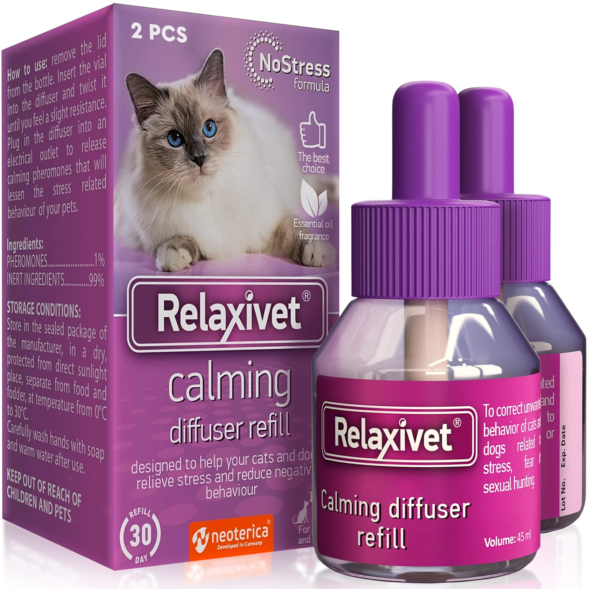 Best Rated in Cat Relaxants & Helpful Customer Reviews