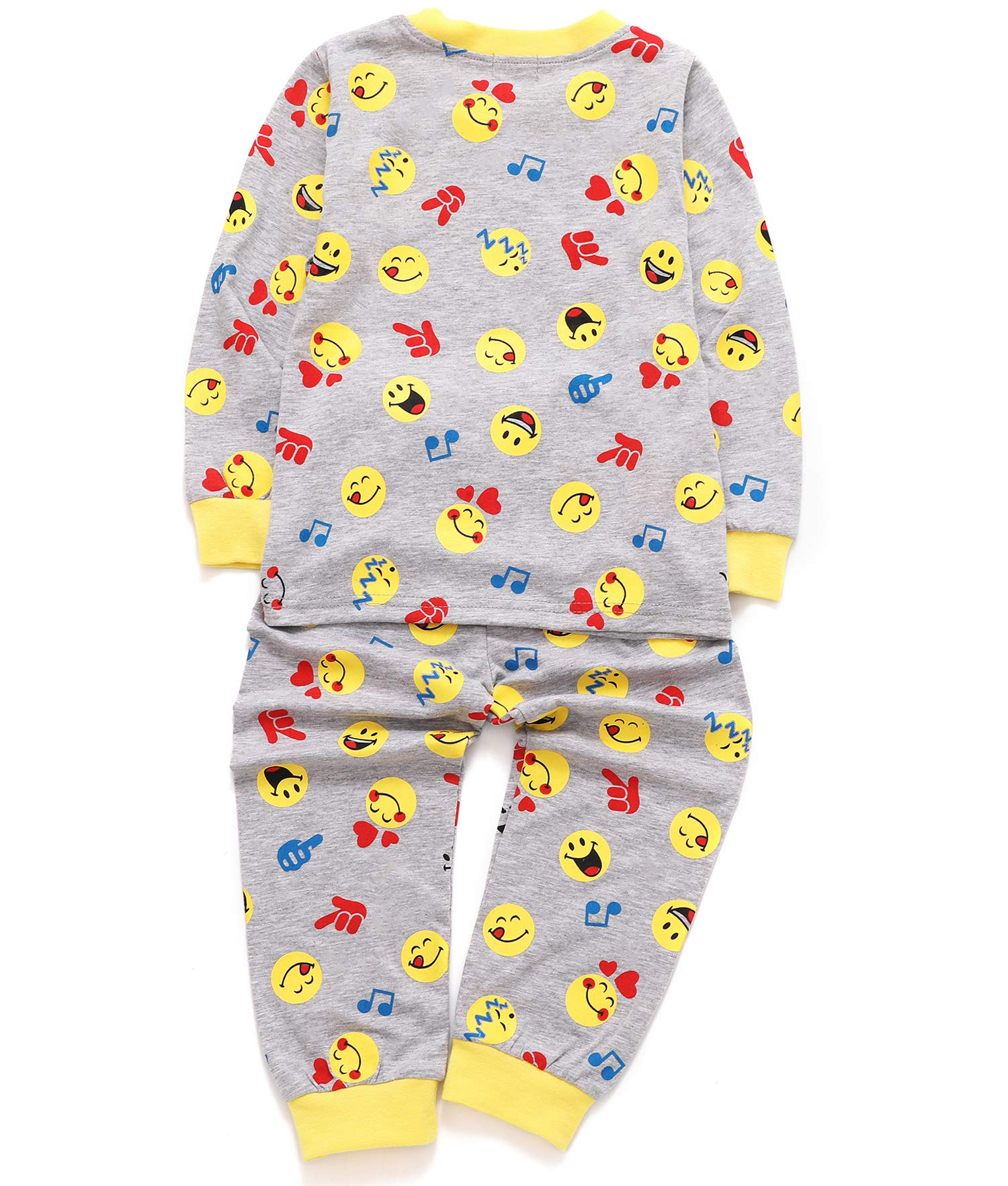 DHASIUE Christmas Kids & Toddler Pajamas Girls 2 Piece Pjs Set Cotton Sleepwear 2-7 Years