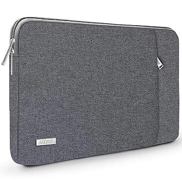 TECOOL Funda para Ordenador Portátil, Maletín Bolso Protector para 2016-2019 MacBook Pro 15, y 14-14,1 Pulgadas Portátiles Acer ASUS DELL Lenovo HP ...