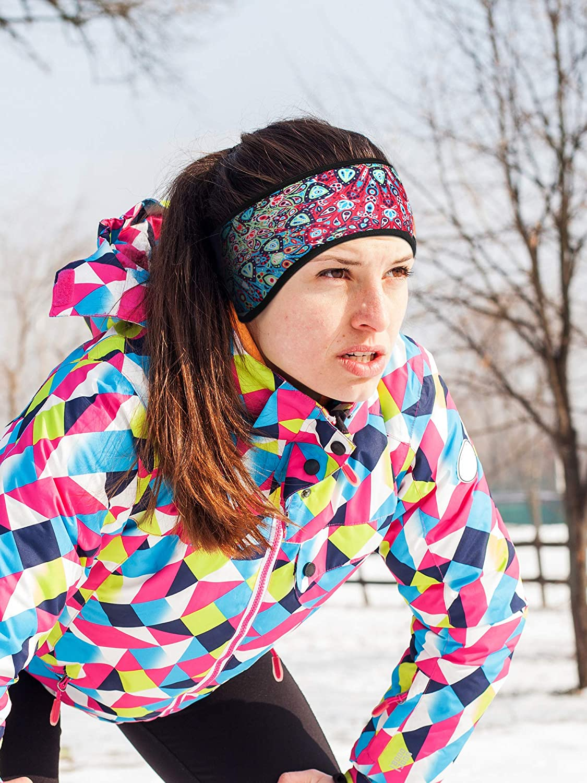 Bememo 3 Piezas de Calentador de Orejas Diadema de Invierno Orejeras de Completa Cubierta Adecuado para Deportes de Invierno Correr//Esqu/í//Fitness//Ciclismo y M/ás
