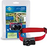 PetSafe Wireless Fence Pet Containment System, Covers up to 1/2 Acre, for Dogs over 8 lb, Waterproof Receiver with Tone…