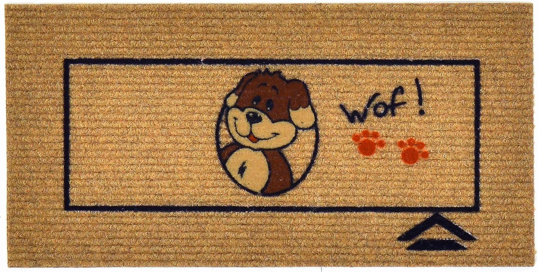 Friends Tappetino 25x50 cm sotto Ciotola per Cane Gatto e Animali Domestici per la Cura dellhabitat Versione Cane e Gatto Vari Colori Lavabile Cat Red