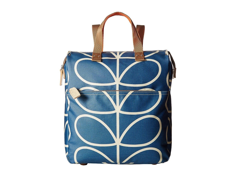 [オーラ カイリー] Orla Kiely レディース Giant Linear Stem Backpack バックパック [並行輸入品] B06XZZM76X Marine