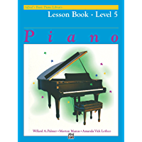 Alfred's Basic Piano Library - Lesson 5: Learn How to Play with this Esteemed Piano Method book cover