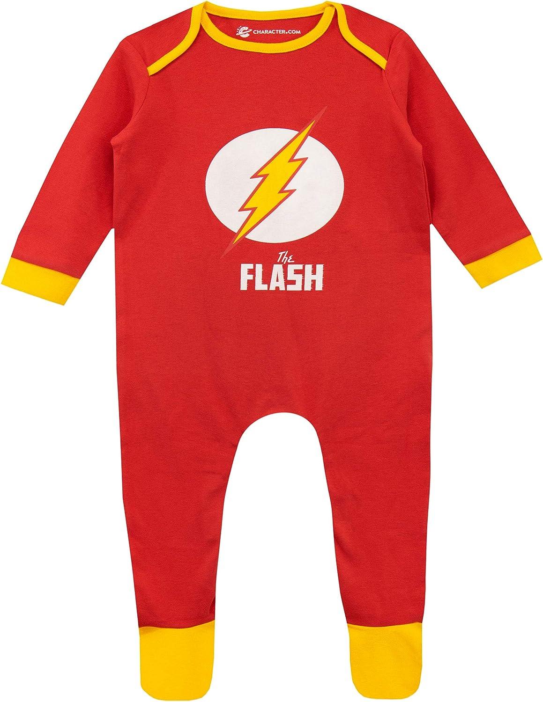 DC Comics Pijama Entera para Niños Bebés The Flash
