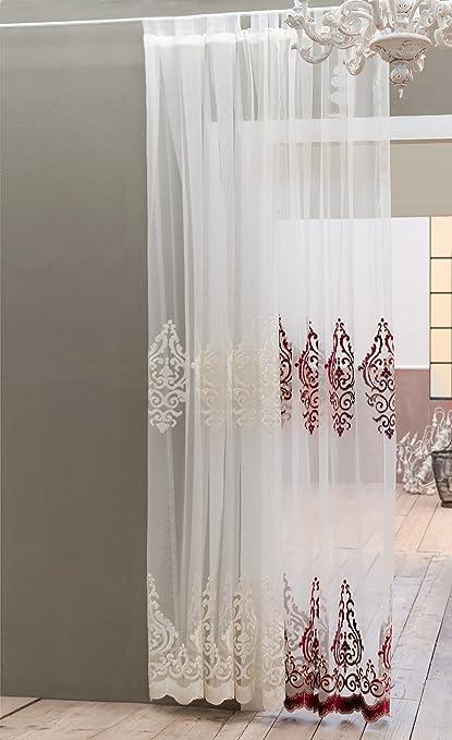 Blanc Mariclò Tenda Shabby Chic Barocco Collection Colore Panna