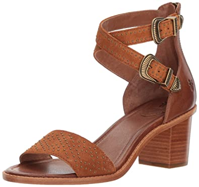 243d388ff06f Amazon.com  FRYE Women s Brielle Western 2 Piece Sandal  Shoes