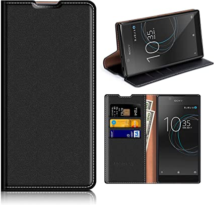 MOBESV Funda Cartera Sony Xperia L1, Funda Cuero Movil Sony Xperia ...