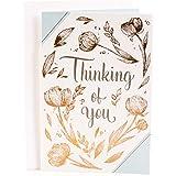 Hallmark Thinking of You Greeting Card (Brighten Your Day Flower Pattern)